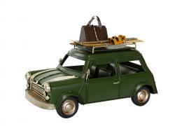 Dekoration Bil Mini Cooper Metall 25x12,5x17cm , hemmetshjarta.se