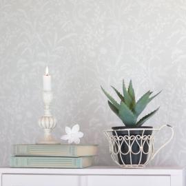 Kopp till blomkruka/plantering - antikvit , hemmetshjarta.se