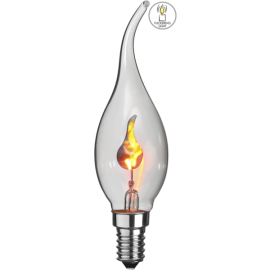 Lampa Flickering Flame , hemmetshjarta.se
