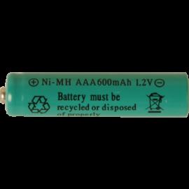 Laddbart batteri AAA 1,2V 600mAh NI-MH 2-pack , hemmetshjarta.se