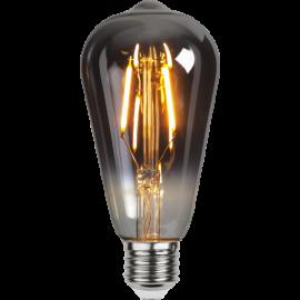 LED-lampa E27 Plain Smoke ST64 , hemmetshjarta.se