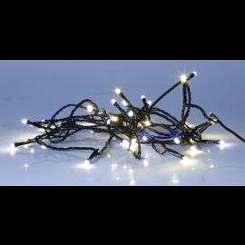 Ljusslinga Utomhus EL Serie LED Varmvit och Kallvit 40 ljus 400cm , hemmetshjarta.se