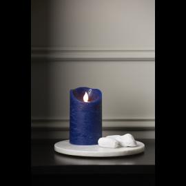 Batteridriven Blockljus LED M-Twinkle Blå 7,5x12,5cm , hemmetshjarta.se