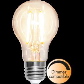 LED-Lampa E27 Ø60 Dim lm810/60w Clear , hemmetshjarta.se