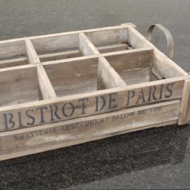 .Trälåda Bistrot de Paris 50 cm , hemmetshjarta.se