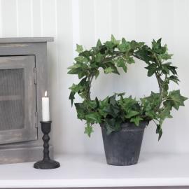 Konstgjord Murgröna planta på båge 35 cm , hemmetshjarta.se
