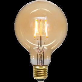 LED-lampa E27 Plain Amber G95 , hemmetshjarta.se
