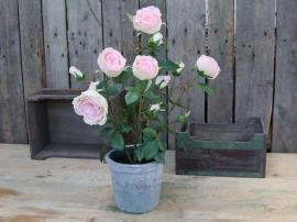 Fleur Rose i gl. Keramikkruka H52 cm rosa , hemmetshjarta.se
