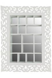 Spegel med hyllor med snidade konsoler , hemmetshjarta.se