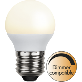 LED-Lampa E27 Ø45 Dim lm450/39w Frostad Basic Ra90 , hemmetshjarta.se