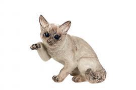 Katt Poly 22x13,5x19cm , hemmetshjarta.se
