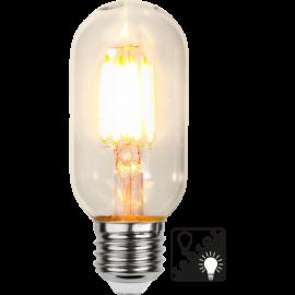 LED-lampa E27 Sensor clear T45 , hemmetshjarta.se