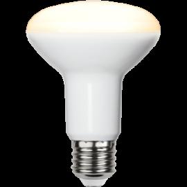 LED-Lampa E27 Reflector Ø80 lm806/60w Frostad , hemmetshjarta.se