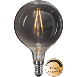 LED-lampa E14 Decoled Smoke G80 Dim , hemmetshjarta.se