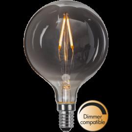 LED-lampa E14 Decoled Smoke G80 Dim , hemmetshjarta.se