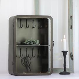 Nyckelskåp 40 cm - antikmässing , hemmetshjarta.se
