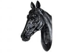 Hästhuvud Vägg 50 cm - svart , hemmetshjarta.se