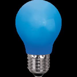 LED-lampa E27 Outdoor Lighting A55 Blå , hemmetshjarta.se