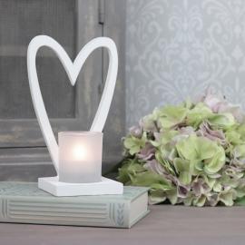 Ljushållare hjärta 19 cm , hemmetshjarta.se