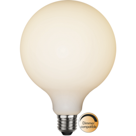 LED-Lampa E27 Double Coating Ø125 lm400/35w Frostad , hemmetshjarta.se
