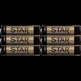 Batteri AAA 1,5V Power Alkaline 6-pack , hemmetshjarta.se