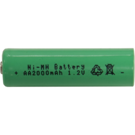 Laddbart batteri AA 1,2V 2000 mAh Ni-MH 2-pack , hemmetshjarta.se