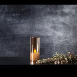 LED Blockljus M-Twinkle Amber 5x12,5 , hemmetshjarta.se