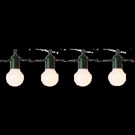 Ljusslinga EL Hooky Utomhus Gul 20 ljus 570cm , hemmetshjarta.se