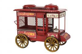Dekoration Popcornvagn Röd 25 cm * , hemmetshjarta.se