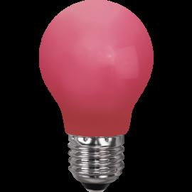 LED-lampa E27 Outdoor Lighting A55 Röd , hemmetshjarta.se