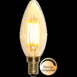 LED-lampa E14 Soft Glow C35 Dim , hemmetshjarta.se