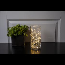 Ljusslinga Dew Drop EL Varmvit 100 ljus 500cm , hemmetshjarta.se