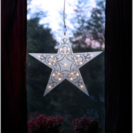 Stjärna Leia 33x35x1 cm , hemmetshjarta.se