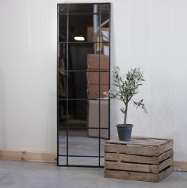 Spegel med spröjs 153 cm - antik svart , hemmetshjarta.se