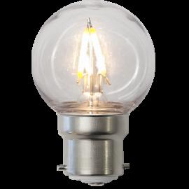 LED-lampa B22 Outdoor Lighting G45 , hemmetshjarta.se