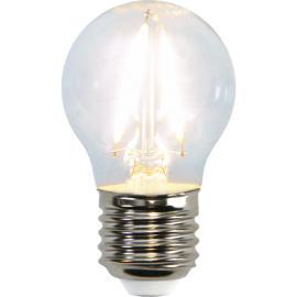 LED-Lampa E27 Ø45 lm250/25w Clear , hemmetshjarta.se