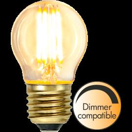LED-lampa E27 Soft Glow G45 Dim , hemmetshjarta.se