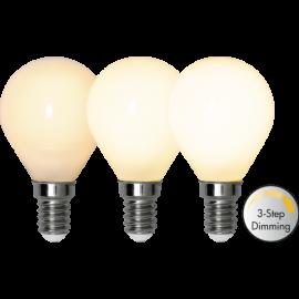 LED-Lampa E14 Ø45 Dim 3-step lm380/34w Frostad , hemmetshjarta.se