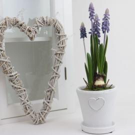Konstgjord Pärlhyacint Planta 25 cm , hemmetshjarta.se