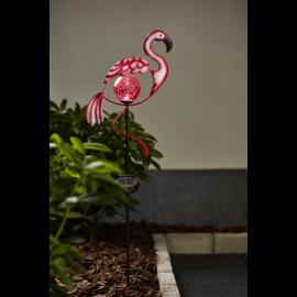 Solcellsdekoration Flamingo , hemmetshjarta.se