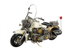 Dekoration Motorcykel Polis Metall 36x14x24cm , hemmetshjarta.se