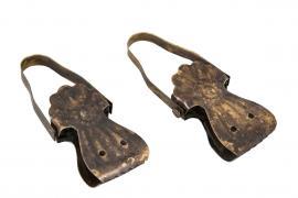 Fransk klämma, clips 8,5 cm - Antik Brun , hemmetshjarta.se