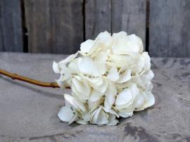 Fleur Hortensia H46 cm creme , hemmetshjarta.se