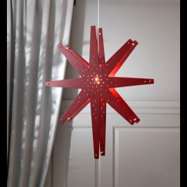 Stjärna Tall 70cm Röd , hemmetshjarta.se
