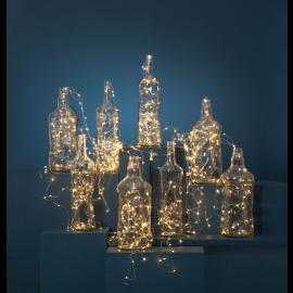Ljusslinga Dew Drop EL Varmvit 720 ljus 300cm 36 strängar , hemmetshjarta.se