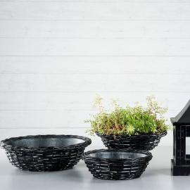 Korg med vattentät zink 3-pack * , hemmetshjarta.se