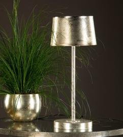Lampa Metall Golv Champagne 37x25/150cm , hemmetshjarta.se