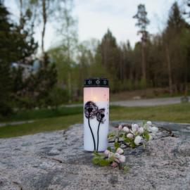 LED Gravljus Dandelion 21 cm , hemmetshjarta.se