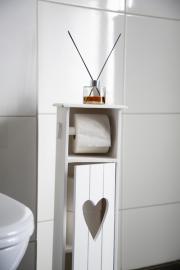 Träskåp för toarullar 70 cm , hemmetshjarta.se