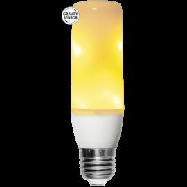 LED-lampa E27 Flame T40 , hemmetshjarta.se